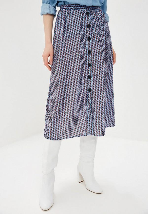 женская юбка y.a.s, синяя