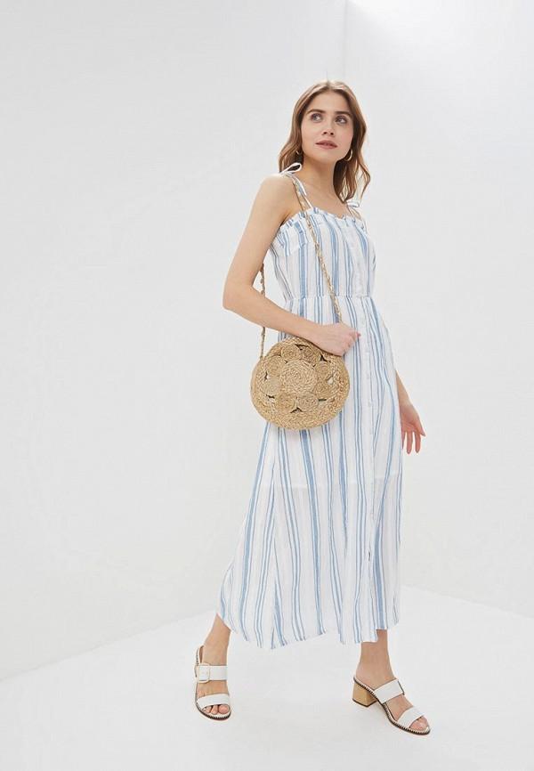женское платье y.a.s, белое