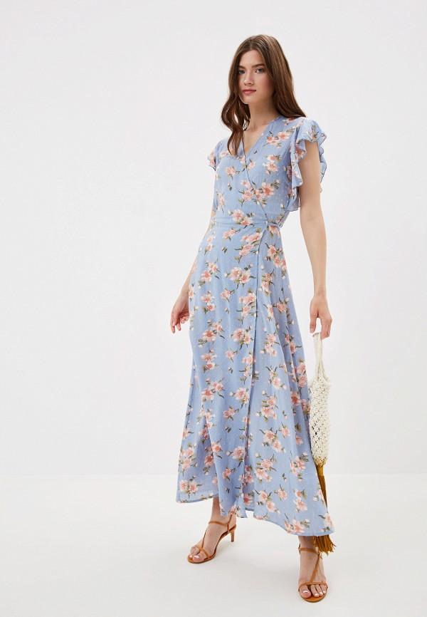 женское платье y.a.s, голубое