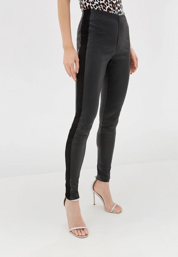 женские повседневные брюки y.a.s, черные