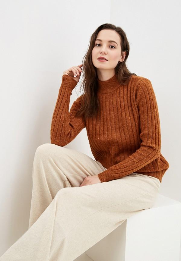 женский свитер y.a.s, коричневый