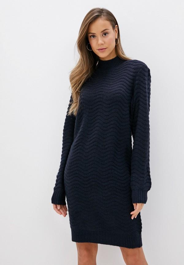 женское платье y.a.s, синее