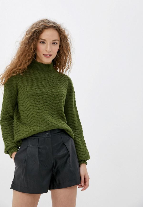 женский свитер y.a.s, зеленый
