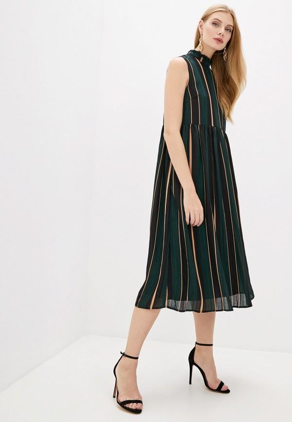 женское повседневные платье y.a.s, зеленое