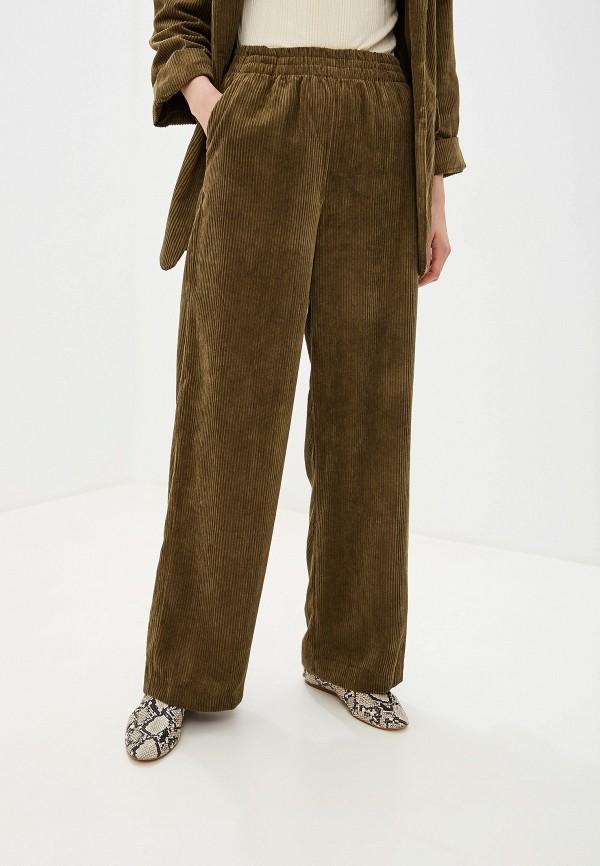 женские повседневные брюки y.a.s, хаки