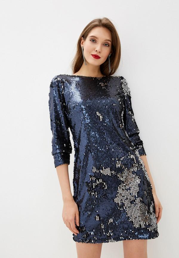 женское вечерние платье y.a.s, синее