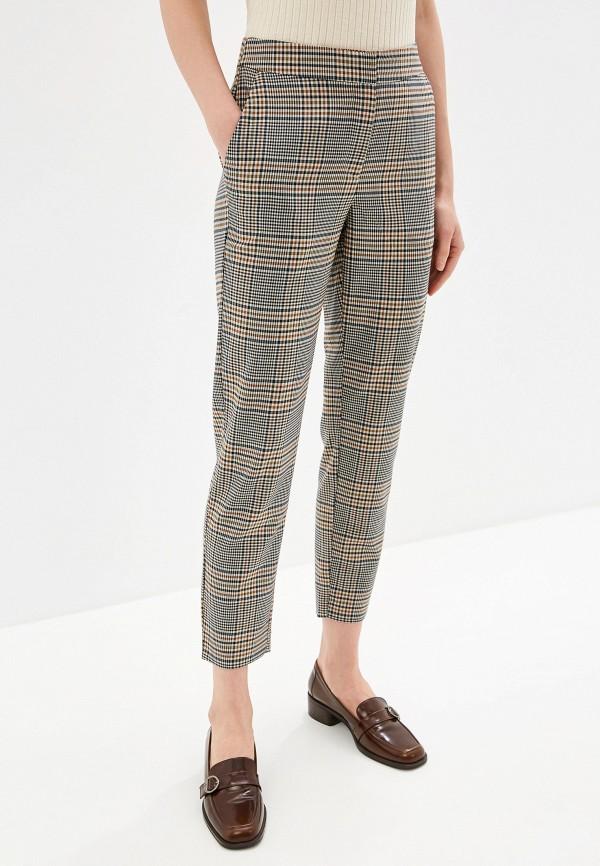 женские повседневные брюки y.a.s, коричневые