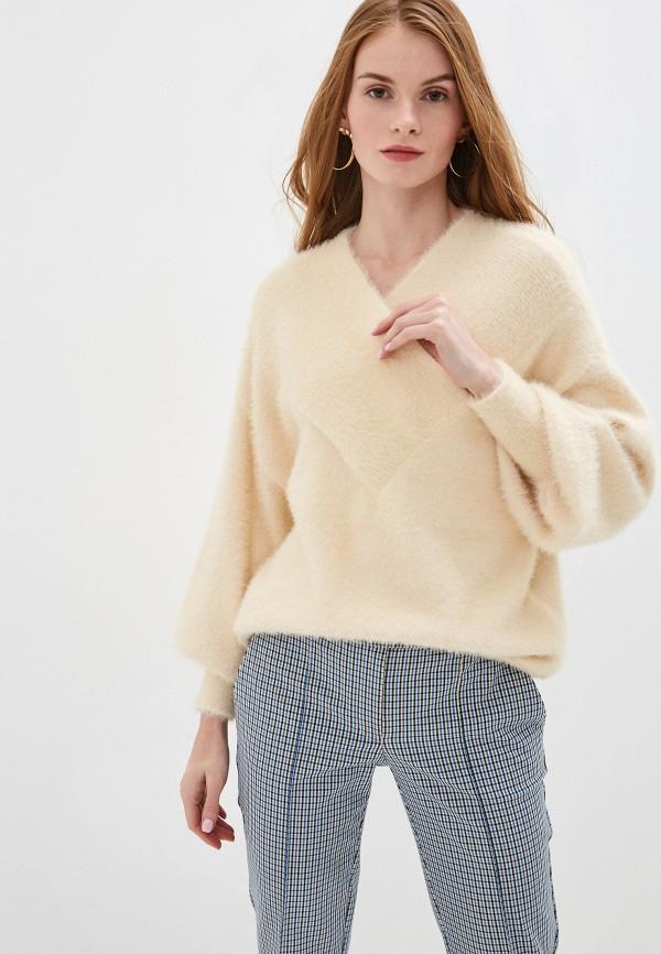 женский пуловер y.a.s, бежевый