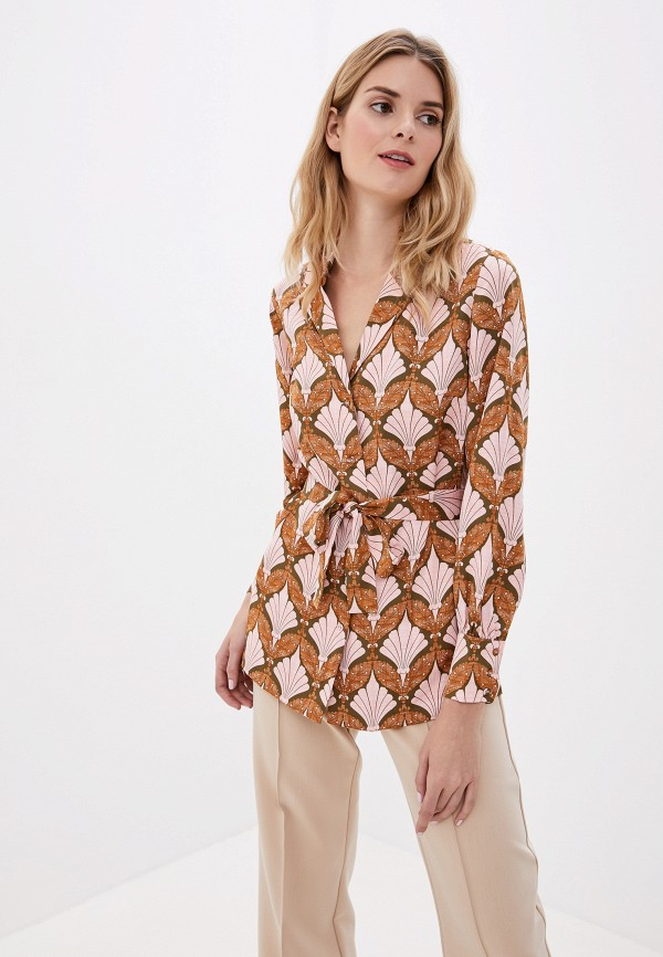 женская блузка y.a.s, розовая