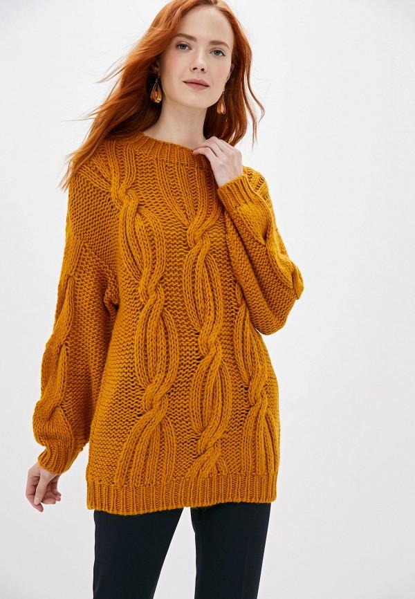 женский свитер y.a.s, оранжевый