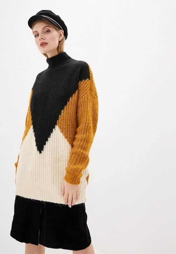 женский свитер y.a.s, разноцветный