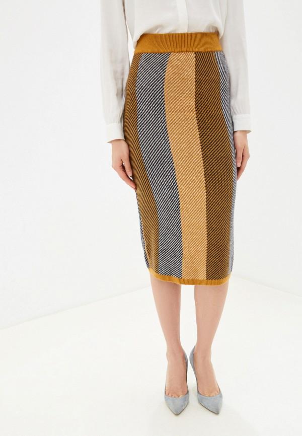 женская зауженные юбка y.a.s, разноцветная