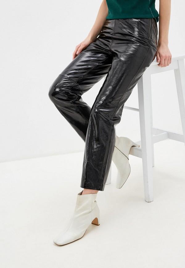 женские брюки y.a.s, черные