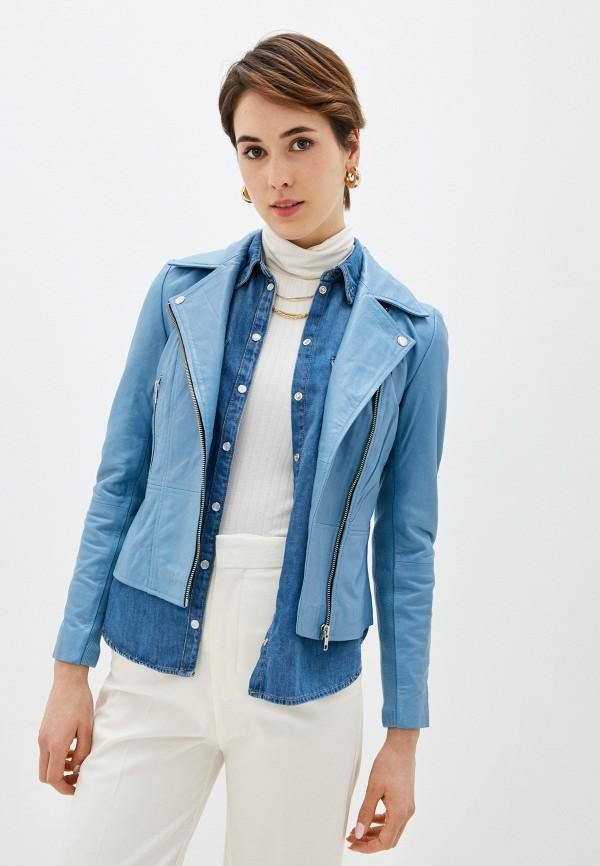 женская куртка y.a.s, голубая