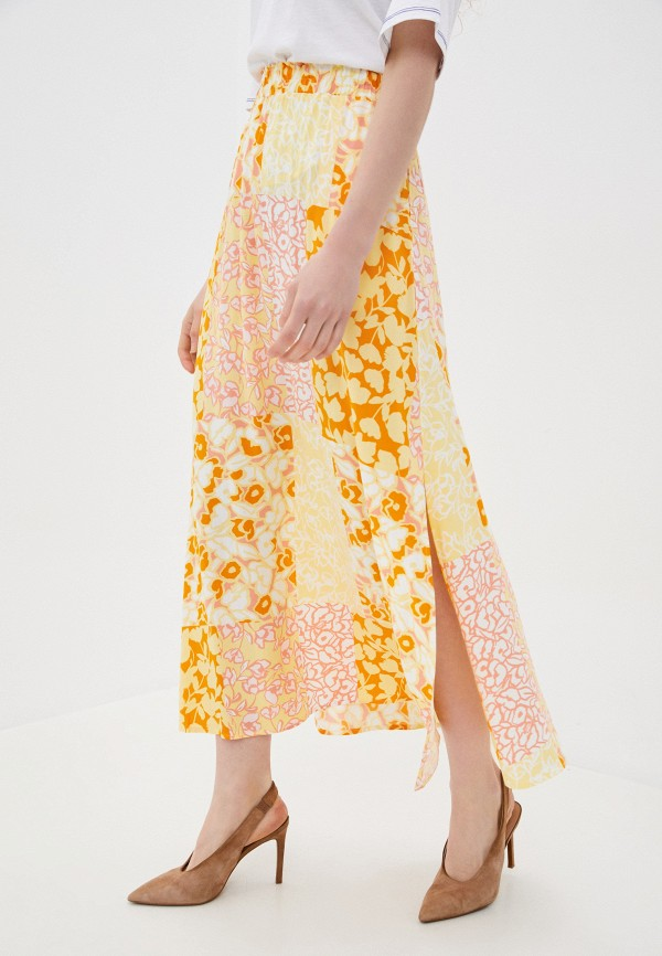женская юбка y.a.s, желтая