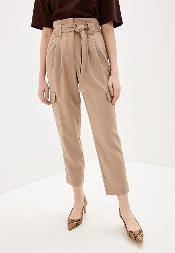 женские повседневные брюки y.a.s, бежевые