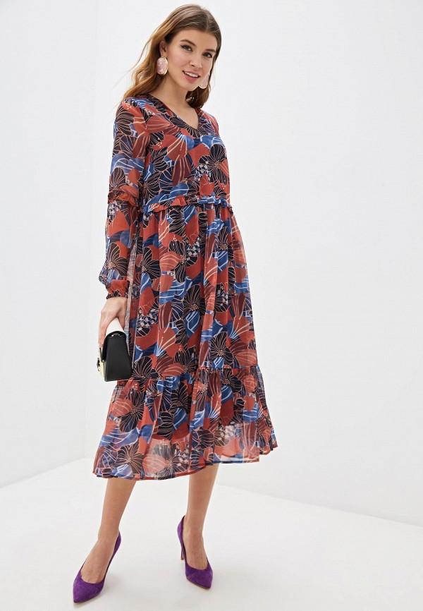женское повседневные платье y.a.s, разноцветное