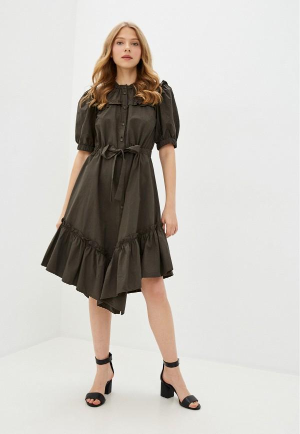 женское повседневные платье y.a.s, хаки