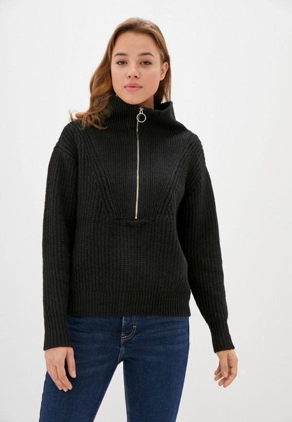 женский свитер y.a.s, черный
