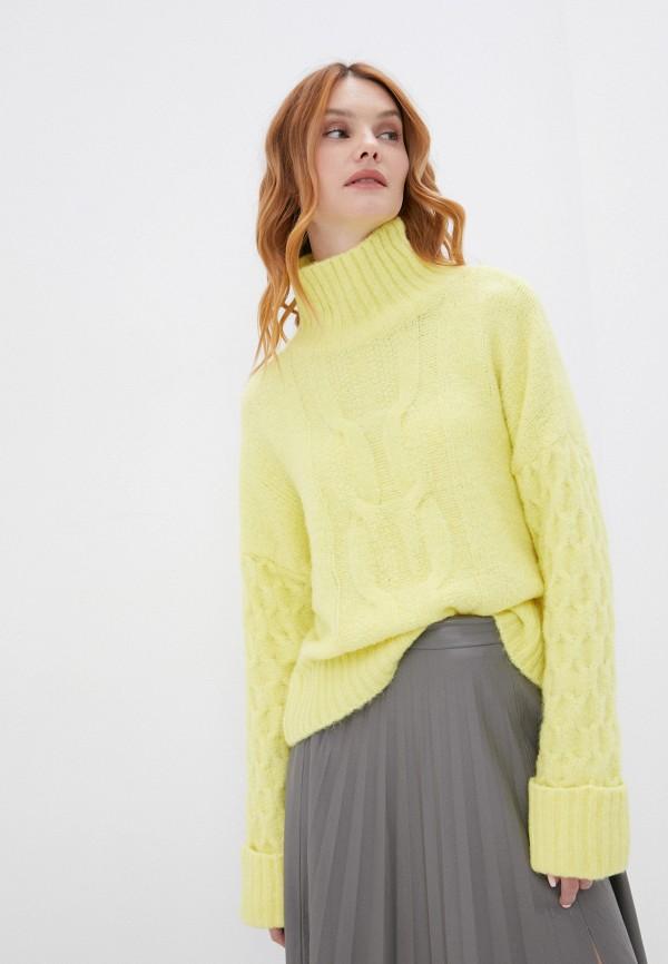 женский свитер y.a.s, желтый