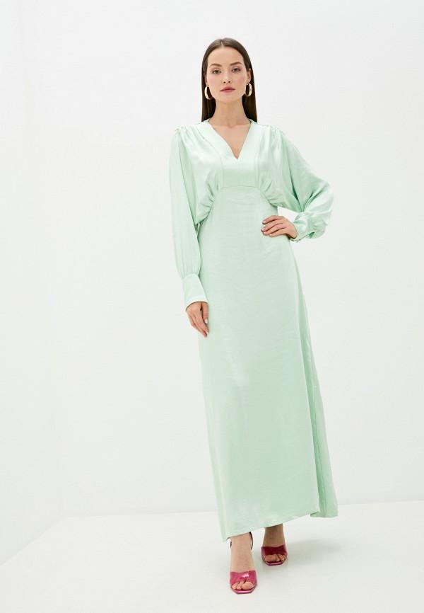 женское вечерние платье y.a.s, зеленое