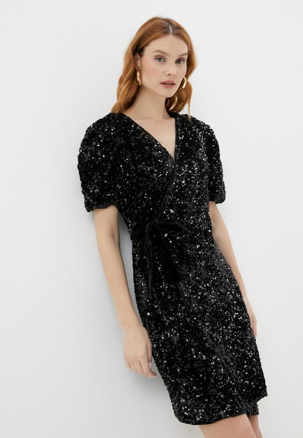 женское вечерние платье y.a.s, черное