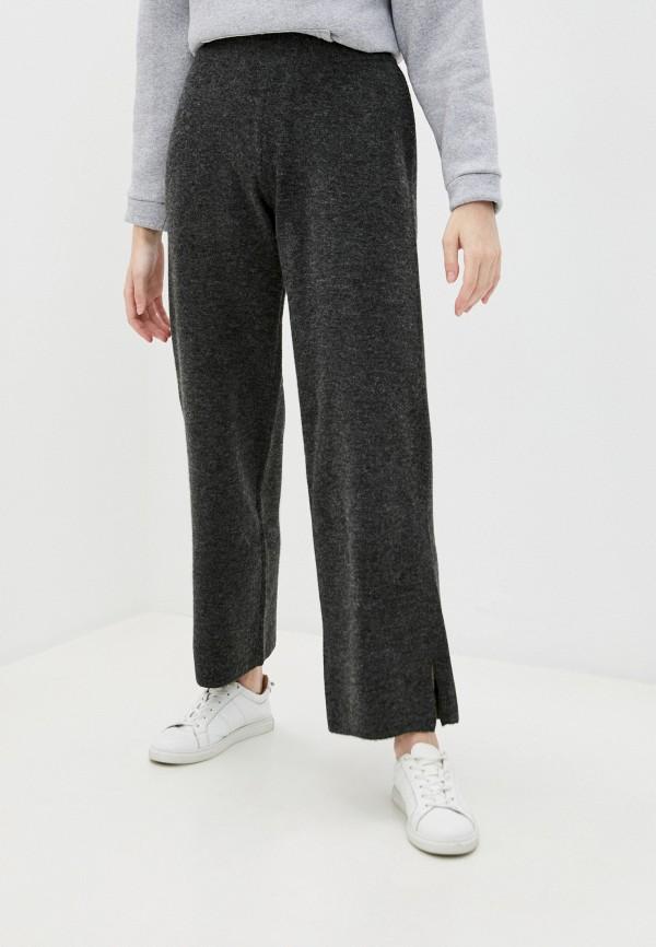 женские повседневные брюки y.a.s, серые