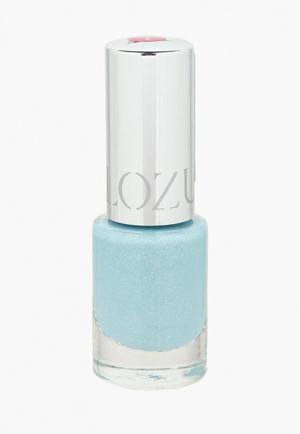 лак для ногтей yllozure, голубой