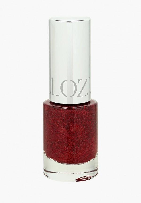 лак для ногтей yllozure, бордовый