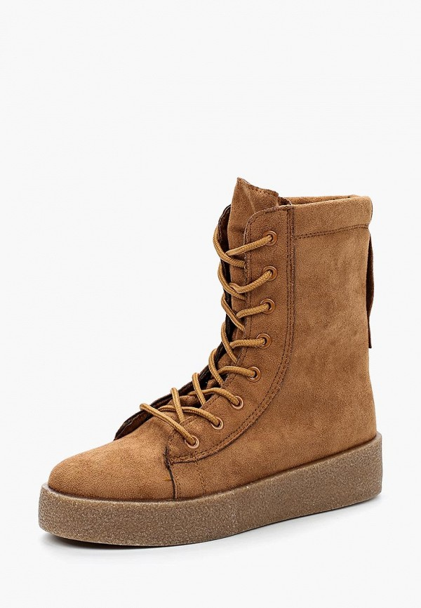 Купить Ботинки Y & L, yl002awboei4, коричневый, Весна-лето 2018