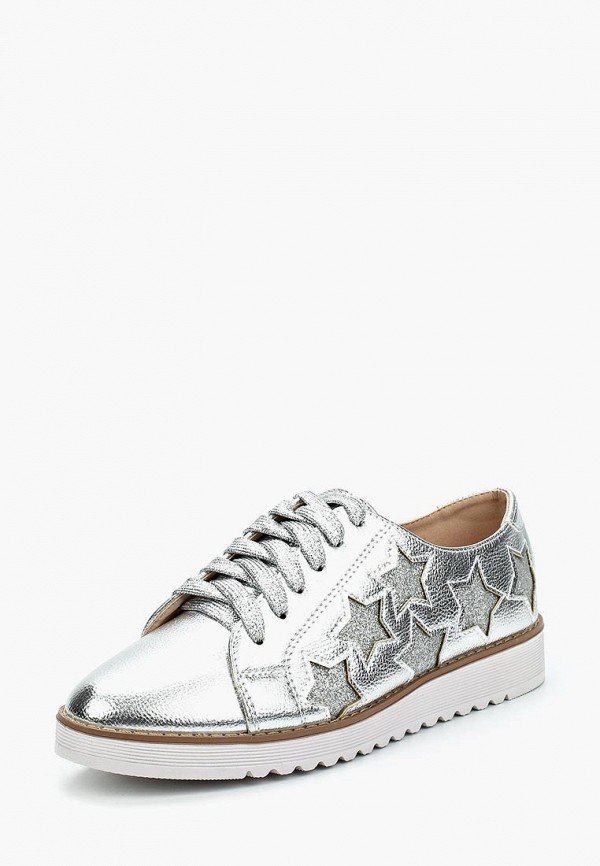 Ботинки Y & L, yl002awzzm57, серебряный, Весна-лето 2018  - купить со скидкой