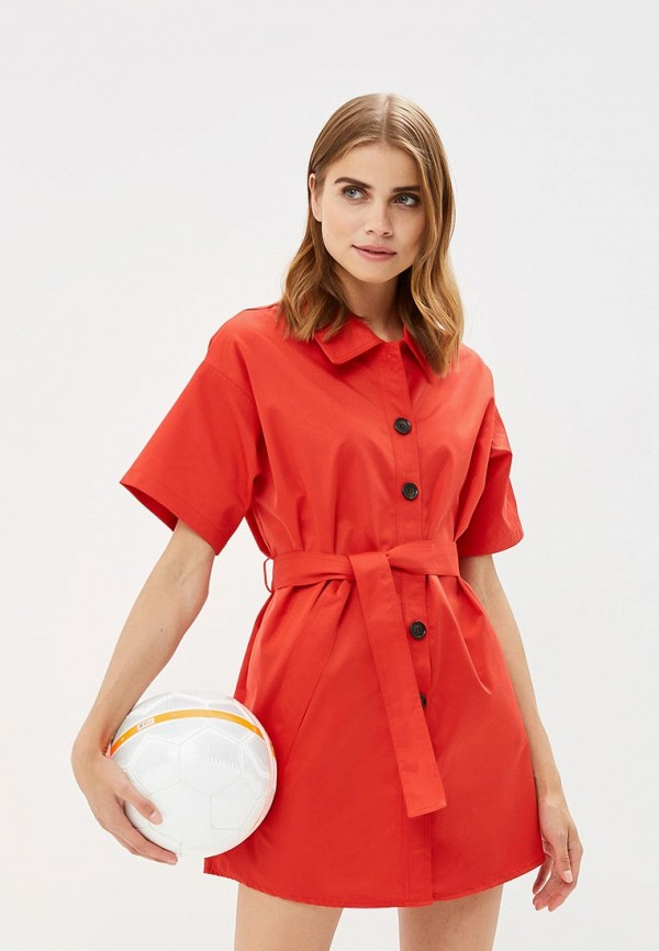 Купить Платье You&You, YO005EWBVVX3, красный, Осень-зима 2018/2019