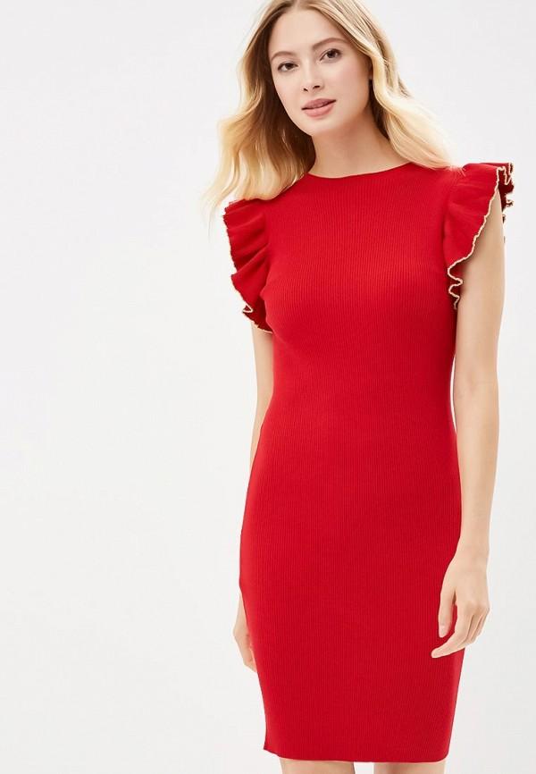 Купить Платье You&You, YO005EWBVWB1, красный, Осень-зима 2018/2019
