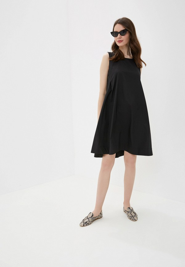 Фото 2 - Платье You&You черного цвета