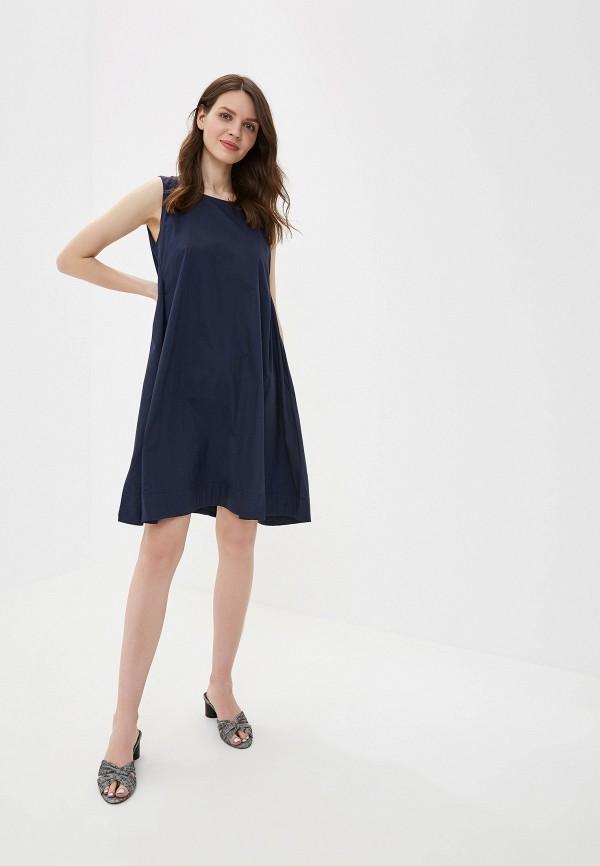 Фото 2 - Платье You&You синего цвета