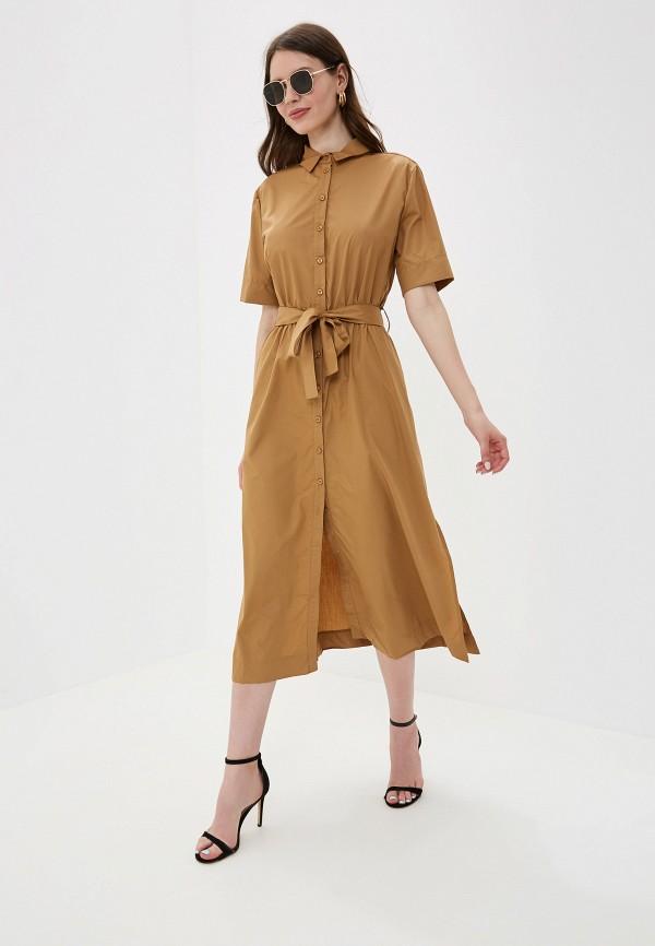 Фото - Платье You&You коричневого цвета