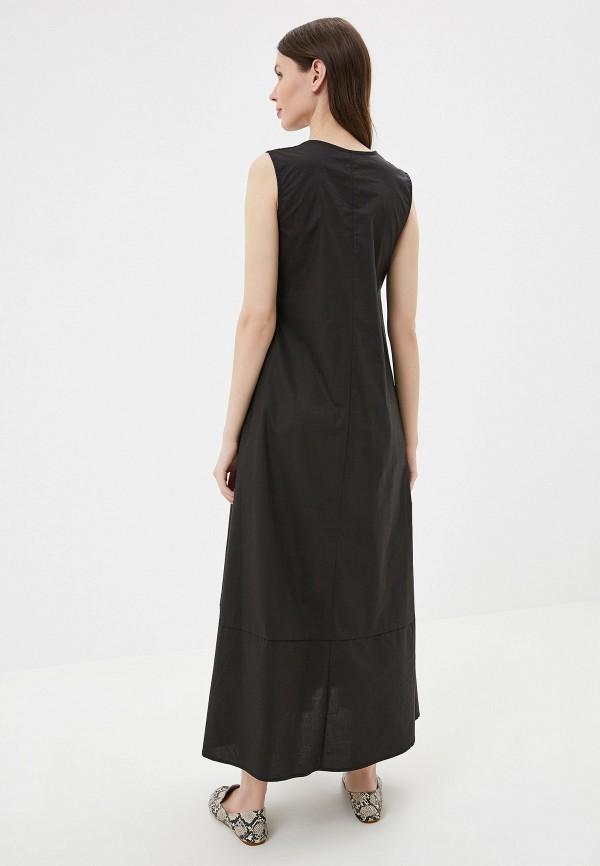 Фото 3 - Платье You&You черного цвета