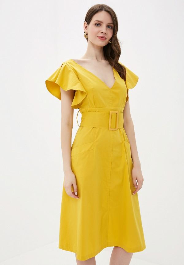 Фото - Платье You&You желтого цвета