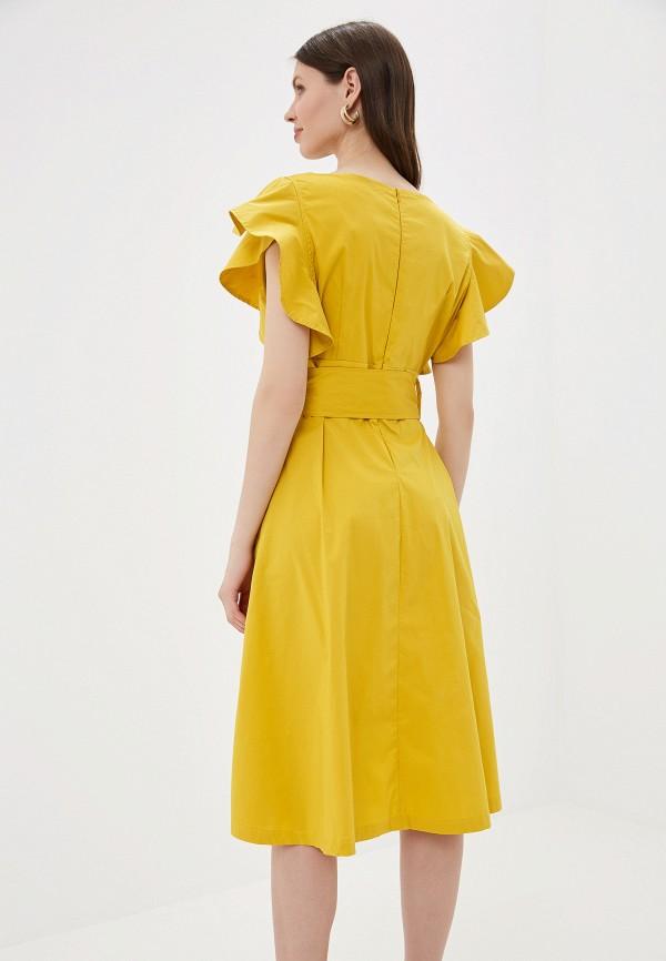 Фото 3 - Платье You&You желтого цвета