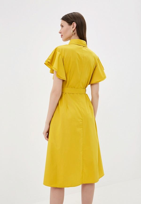 Фото 6 - Платье You&You желтого цвета