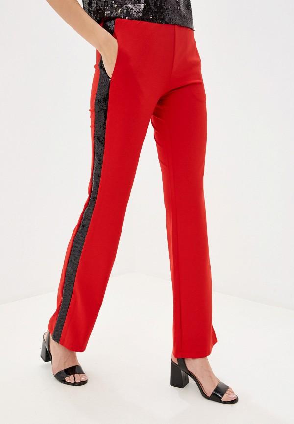 женские брюки you&you, красные