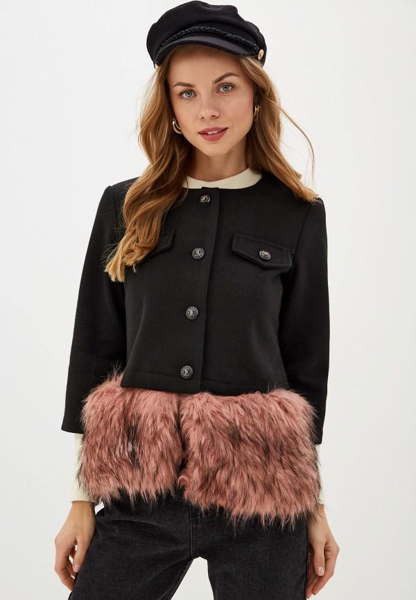 женское пальто you&you, черное