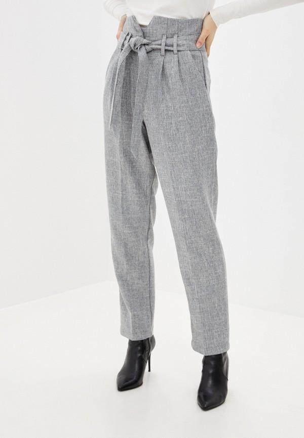 женские повседневные брюки you&you, серые