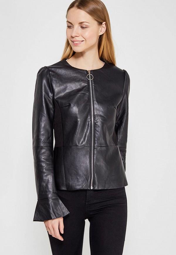 Купить Куртка кожаная You&You, yo005ewzxb31, черный, Весна-лето 2018