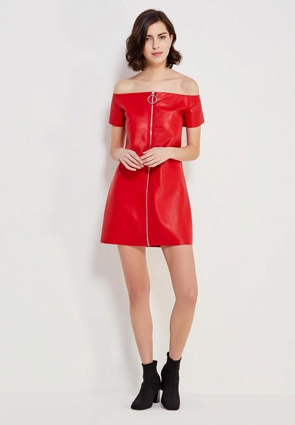 Фото 5 - Платье You&You красного цвета