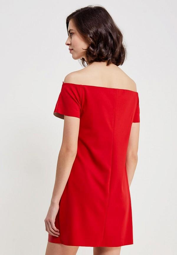 Фото 6 - Платье You&You красного цвета