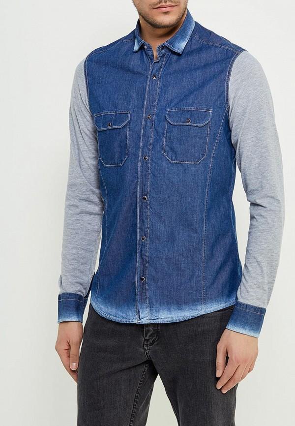 Рубашка джинсовая Young & Rich Young & Rich YO009EMAJBC3 рубашка b young 803268 80032