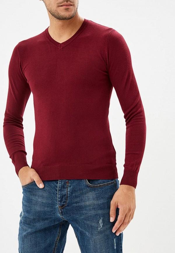 мужской пуловер y.two, бордовый