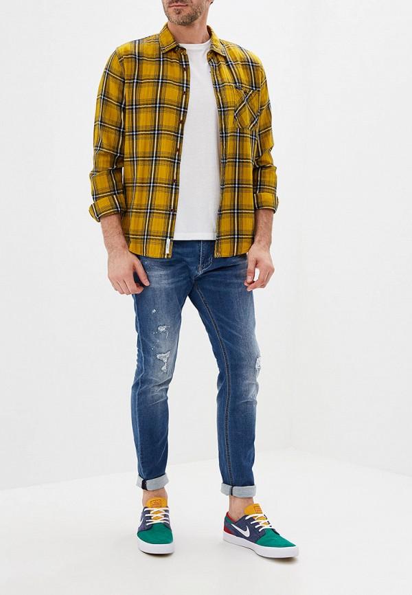 Фото 2 - мужские джинсы Y.Two синего цвета