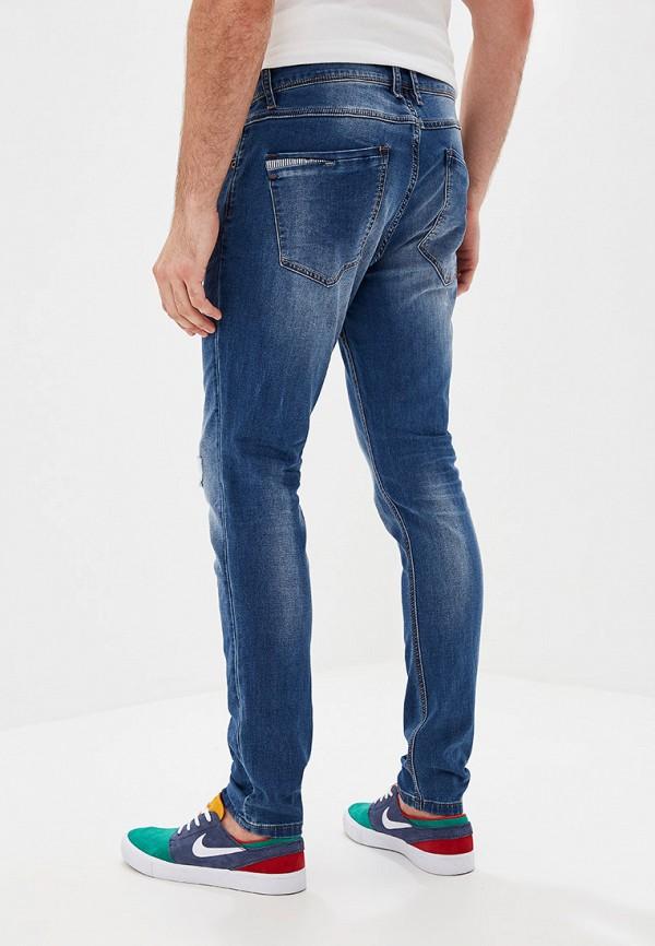 Фото 3 - мужские джинсы Y.Two синего цвета